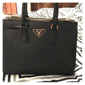 Prada Saffiano Tote Bag